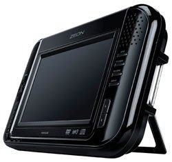 jWIN 7″ LCD Portable Multimedia Tablet Style DVD Player with iPod Video Cradle