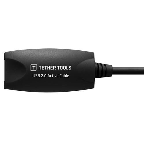Tether Tools Pro USB 2.0 Active Extension Cable, 32 Feet, Black