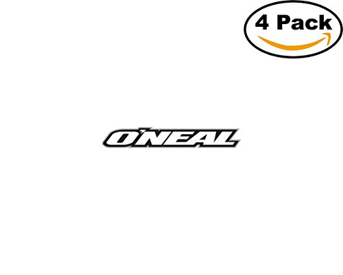 oneal racing 4 Stickers 4x4 Inches Car Bumper Window Sticker Decal