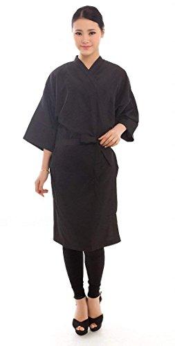 Salon Client Gown Robes Cape, Hair Salon Smock for Clients- Kimono Style