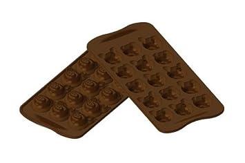 Silikomart Moule A Chocolats Silicone Scg 35 Choco Cochons Cochon