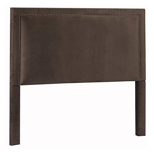 Leffler Home 18000-10-13-01 Night Party Chocolate Brookside Headboard, King, Dark Brown