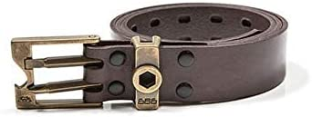 Bottle Opener Screwdriver 686 Men/'s Snow Toolbelt Trendy and Functional Technical Outerwear Apparel Wrench 100/% Full Grain Leather Belts for Men