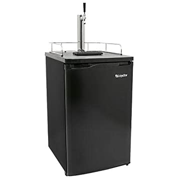 Kegerator For Sale >> Edgestar Kc2000 Full Size Kegerator And Keg Beer Cooler