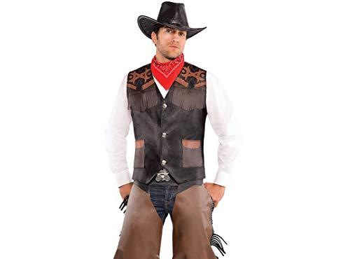 Cowboy Deluxe Vest - Adult -