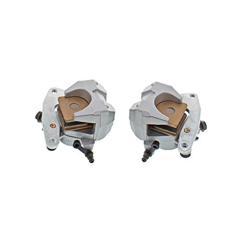 NICHE Front Left Right Brake Caliper Pad Set Pair for Yamaha Big Bear 400 2000-2012 ()