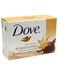 Shea Butter Bath Soap (Dove Soap Bar 135G Shea Butter 8-Pack)