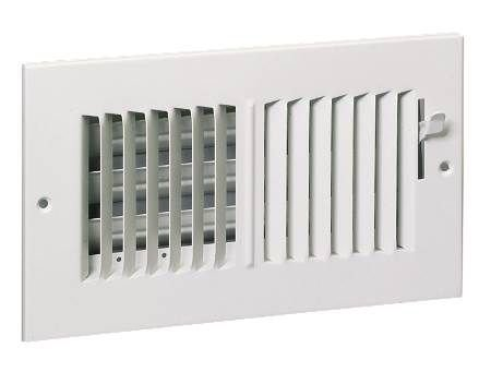 Hart Cooley Wall Register - White