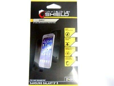 Zagg Invisible Shield for the Samsung Galaxy S5 - Dry - Full Body ()