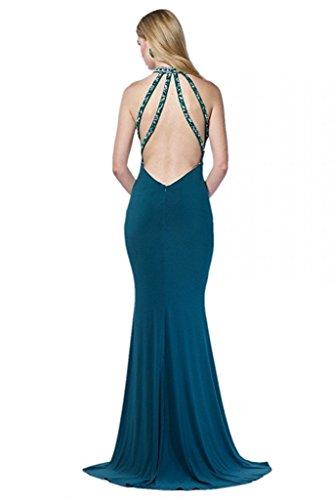 Promkleider Festlichkleider Braut Marie Lila Figurbetont Partykleider mit Elegant Steine Abendkleider Meerjungfrau La d5qYawSnY8