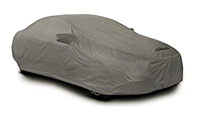 Coverking Custom Fit Car Cover for Select Toyota Corolla Models - Autobody Armor (Gray)