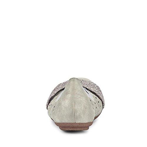 Rieker Grises 40 Grey Grey Gris Staub Silber 41487 Silber Staub POa6pPr