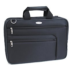 Samsonite 44311-1041 Black Double Gusseted Business Case