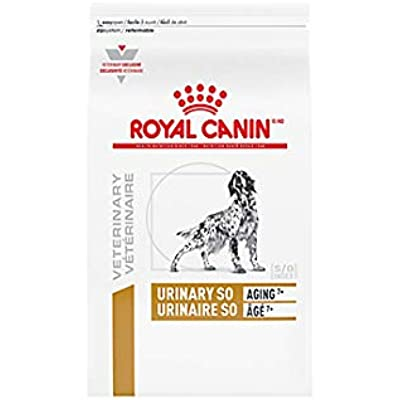 Royal Canin Veterinary Diet Canine Urinary SO Aging 7+ Dry Dog Food 17.6 lb