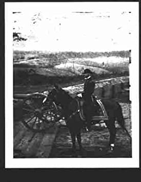 Sherman on Horse Photo of General William T