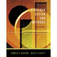 Research Design &Methods A Process Approach 6th ed PDF