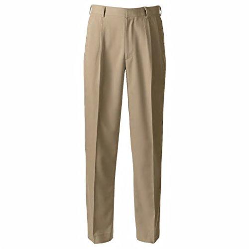 (Grand Slam Men's Big & Tall Ultimate Classic-Fit Performance Stretch Pleated Golf Pants (Aluminum, W46 x L32))