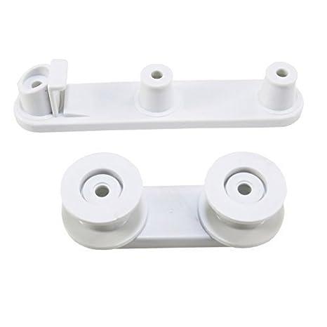 First4Spares ruedas y apoyo de la cesta para lavavajillas ...