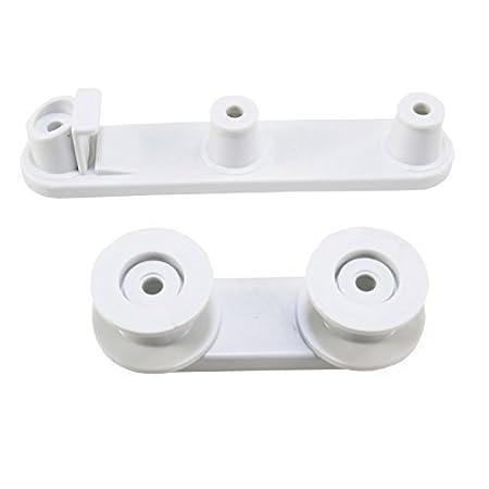 First4Spares ruedas y apoyo de la cesta para lavavajillas AEG ...