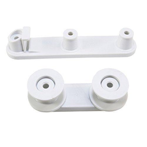First4Spares ruedas y apoyo de la cesta para lavavajillas Zanussi ...