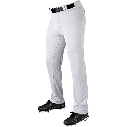 (DeMarini Adult Uprising Baseball Pant, Large, Team White)