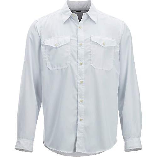 ExOfficio Men's BugsAway Briso Lightweight Long-Sleeve Shirt, White, -