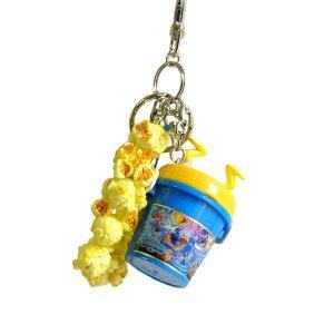 (Donald Duck Disney Resort Limited popcorn bucket Cell Phone Strap Key Chain)