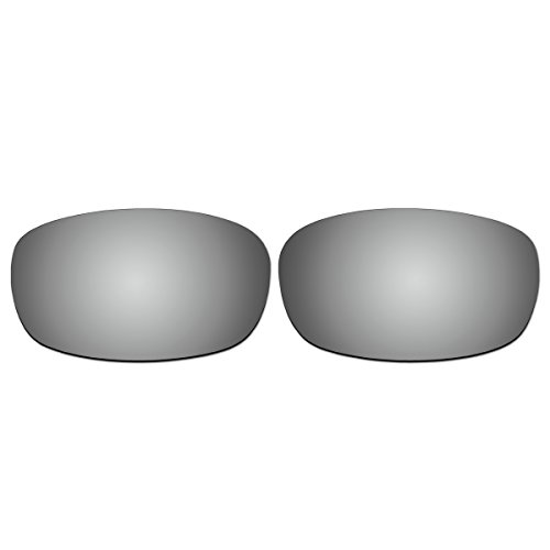 Replacement Titanium Polarized Lenses for Oakley Square Wire 2.0 - Square Polarized Oakley Wire 2.0 Lenses