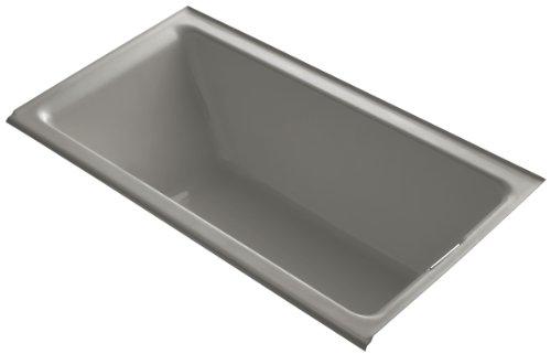Kohler K-855-R-K4 Tea-For-Two 5.5Ft Bath with Integral Tile Flange and Right-Hand Drain, Cashmere ()