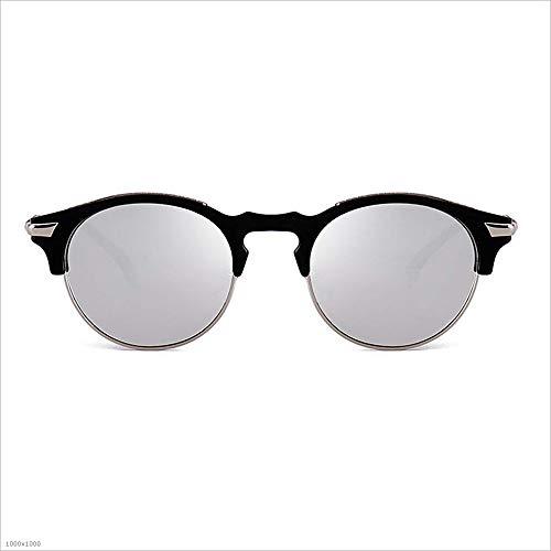 de sans Semi Lunettes C1 Haute de Flyci de C2 qualité rétro Couleur Cadre Protection Lunettes UV Soleil Anti vwwCfxqBg