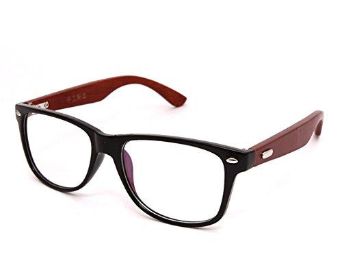 Surprising Day New High Grade Fashion Women And Men's Wooden Glasses Frame Natural Wood Bamboo Eyeglasses Frames Vintage Spectacle Frames Bright - Australia Wooden Frame Sunglasses