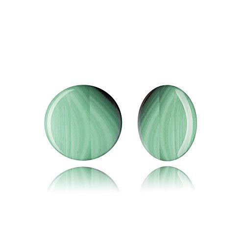 (Emerald Green Clips Earrings High Fashion Jewelry Gift)