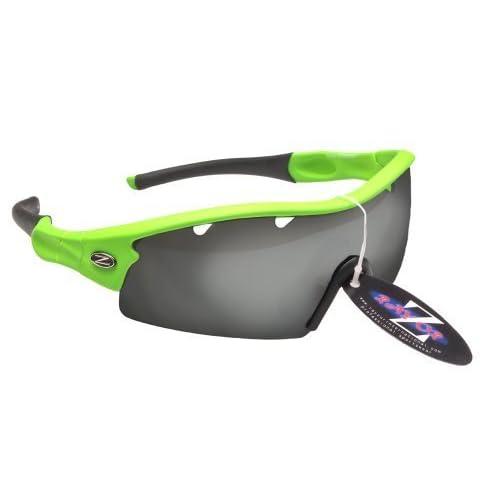 ... ventilación ahumada antideslumbrante Lente con espejo. Mejor Rayzor  profesionales ligeros UV400 Verdes Deportes Wrap Running Gafas de sol 439085e98496