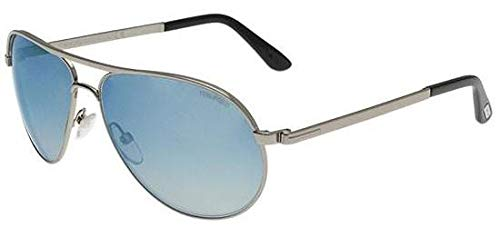 Tom Ford FT0144 Marko Sunglasses 14X Shiny Light ()