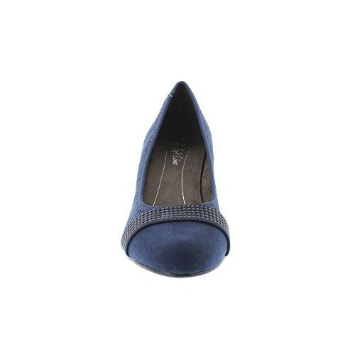 Man Softline Soft Damen 22474 Heels Made 805 Line Marine qaAnaFwPX