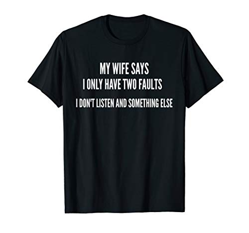 Funny Husband Shirts For Men Him Fathers Day Gifts From Wife
