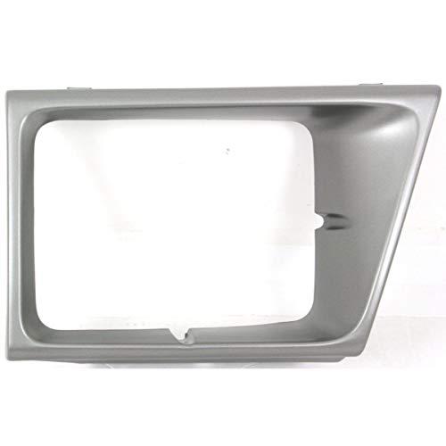 (New Head light Headlight Door Headlamp Bezel Driver Left Side Argent E150 Van LH)