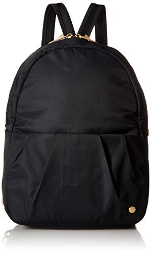 - PacSafe Citysafe CX anti-theft convertible backpack Messenger Bag, 34 cm, 8 liters, Black (Black 100)