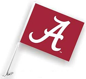 Alabama Crimson Tide Car Flag by WinCraft