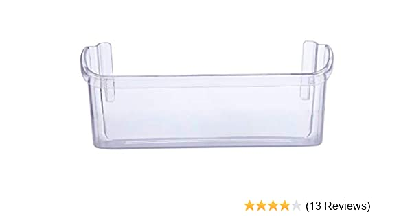 2-Pack 240323002 Refrigerator Clear Door Bin Replacement for Frigidaire Refrigerators AH429725 240323009 240323005 890955 EA429725 240323010 240323006 Compatible with Part Number AP2115742
