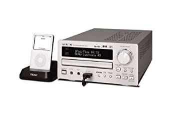 TEAC CRH257i silver mini system with iPod dock sent direct from Harrow Audio