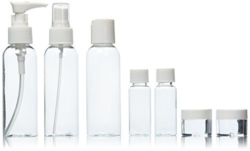 Soft 'N Style Travel Bottle Set, 7 Piece Soft 'N Style 8069