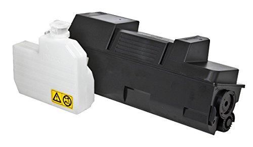 Compatible Kyocera Mita TK-352 (1T02J10US0) Toner CTG, Black, (TK-352) 1-450GR CTG,W/CHIP + 1 Waste Container