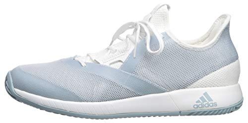 adidas Women's Adizero Defiant Bounce, ash Grey/White, 5 M US by adidas (Image #5)