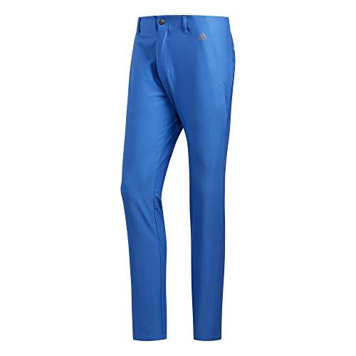 Blue Pants Stripe - adidas Golf Ultimate 3-Stripe Tapered Pant, True Blue, 3630