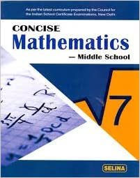 concise middle school series class 8 mathe r k bansel