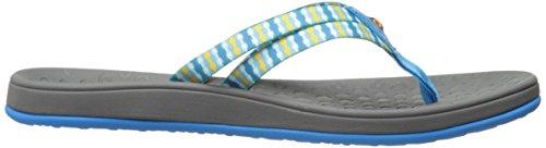 Vesten Vrouwen Hudson Singels Strepen Sandaal Lichtblauw / Multi