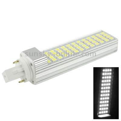 Lamp G24 12W 1000LM LED Transverse Light Bulb, 52 LED SMD 5050, White Light, AC 220V Highly Recommended (Color : Color1)