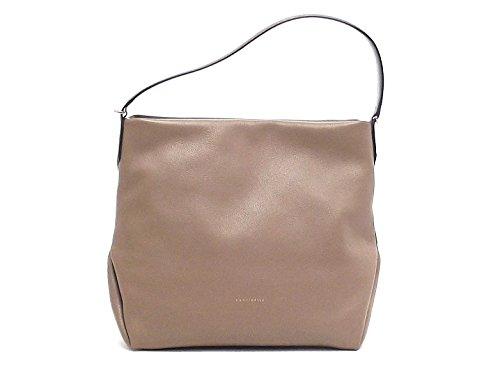 Coccinelle - Bolso al hombro para mujer marrón topo