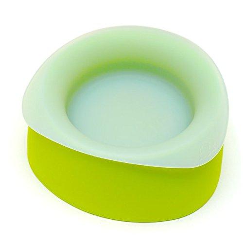 Yummy Pet Travel Dog Bowls - Key Lime - Medium